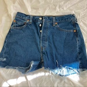 Levi high waisted short